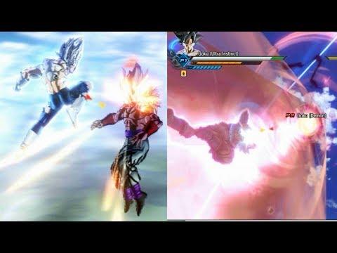 #3 Goku and Vegeta Ultra Instinct Vs Demon God ( Dragon Ball Parallel World ) -DBXV2 )