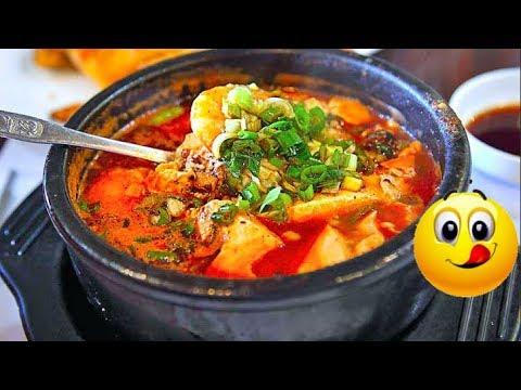 KOREAN KIMCHI TOFU STEW!!  🌶️🌶️| VEGAN (김치순두부찌개) SOONDUBU JJIGAE