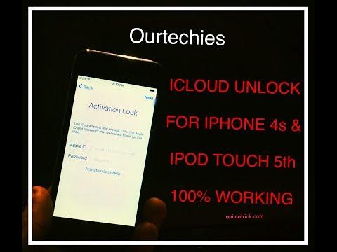 IPHONE 4s|| iIPOD 5th GENERATION ICLOUD ACTIVATION LOCK UNLOCKED 100% WORKING PERMANENT SOLUTION