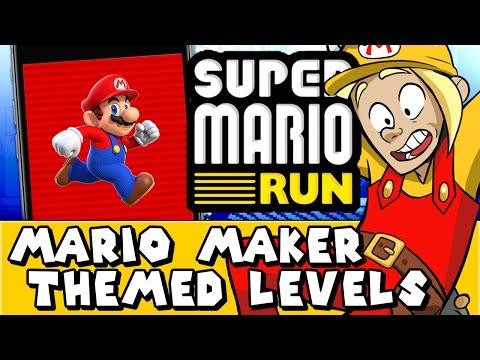 Super Mario Maker: Super Mario Run Themed Levels! (Reddit #23)