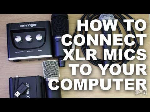 How To Connect an XLR Mic to Computer for Beginners