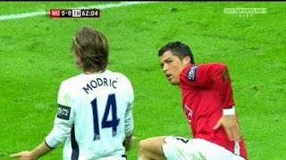 كرستيانو رونالدو vs توتنهام (01-03-2009 ) نهائي كاس الرابطه الانجليزيه HD