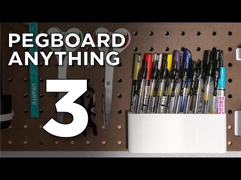 Pegboard Anything 3 // Fusion 360 Tutorial