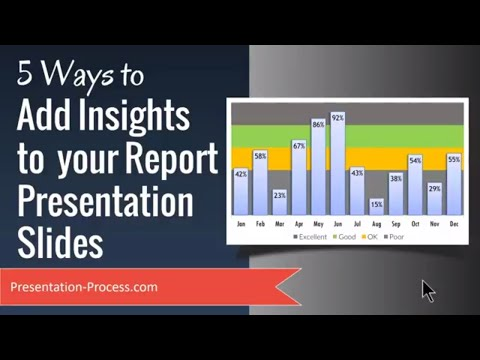5 Ways to Add Insights To Your Report Presentation Slides