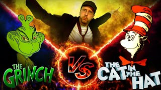 The Grinch vs. The Cat in the Hat