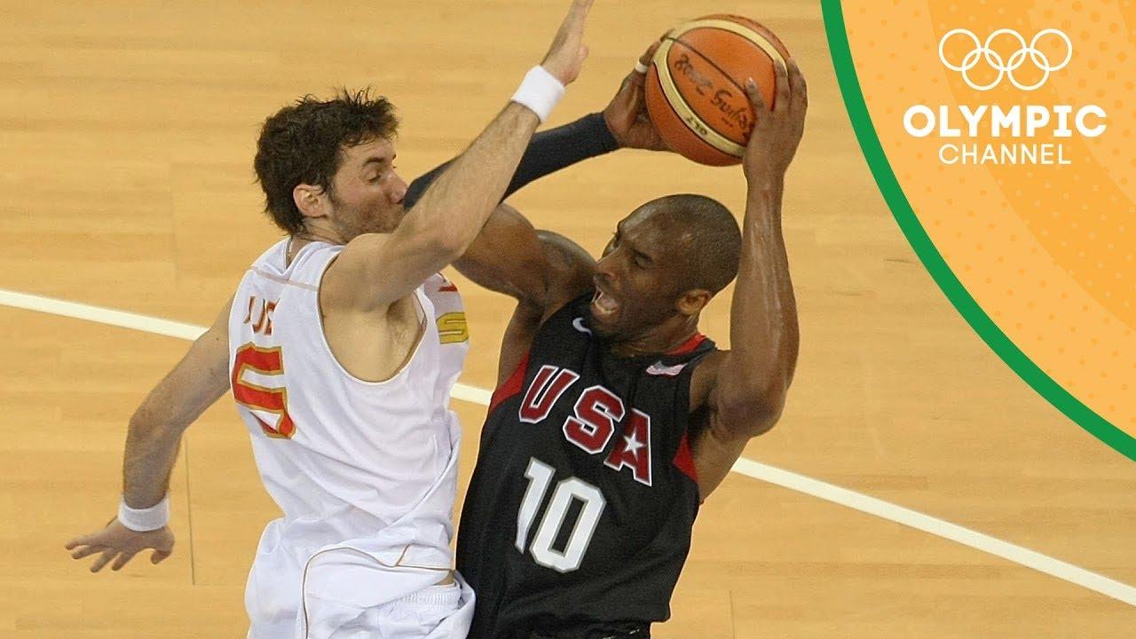 Spain vs USA - Condensed Gold Medal Match  | Beijing 2008 |Throwback Thursday