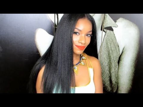 How To Make Long Straight Hairstyle With 7 Pieces Clip In Hair Extensions