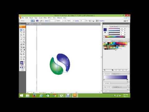 Adobe illustrator cs3 tutorial in urdu-hindi part 9. make 3d ball logo