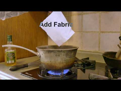 How to dye fabric with Kool-Aid and Vinegar