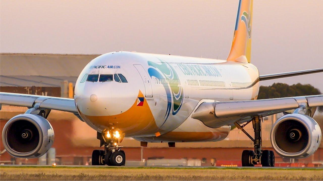 SUPER Cebu Pacific Air Landing & Take off | Melbourne Airport Plane Spotting