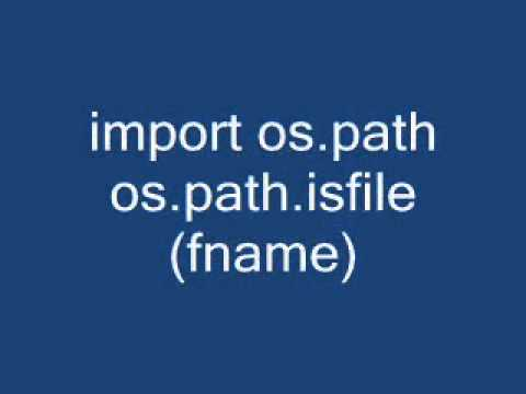 How do I check if a file exists using Python?