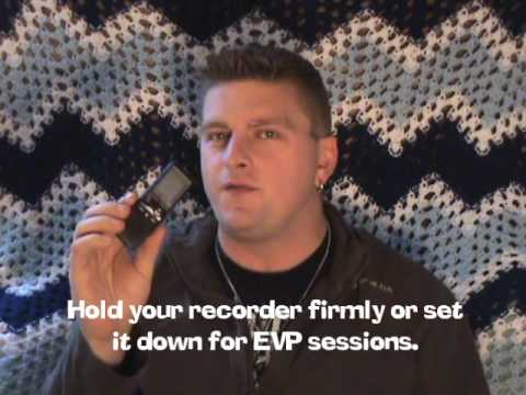 Ghost Hunting 101 EVP Voice Recorder Tips & Tricks Tutorial