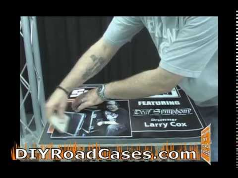 DIY Road Cases ® Featuring Larry Cox - Applying Graphics & Wraps