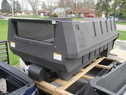 Dumper Dogg 8' POLY! Dump insert to make a instant dump truck!