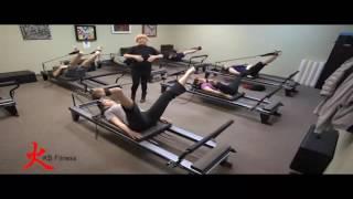 Pilates Power Gym Mini Reformer Almaden Kb Fitness Exercise Studio