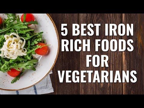 5 Best Iron Rich Foods for Vegetarians