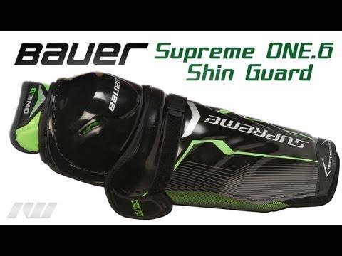 Bauer Supreme ONE.6 Hockey Shin Guard Review