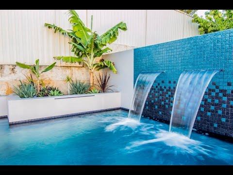 Concrete swimming pool construction Perth Western Australia