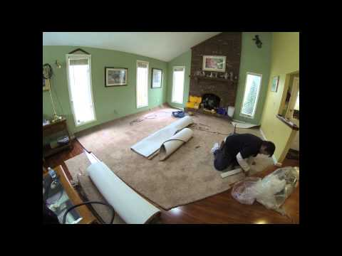 Carpet Installation Timelapse