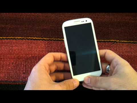 How To take Screenshots in Samsung Galaxy S3 with Android ICS and Jelly Bean