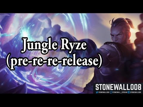League of Legends - Jungle Ryze (rework pre-re-re-release)
