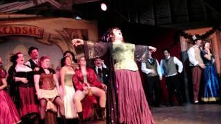 The Ghost Of Anne Boleyn With Her Head Tucked Underneath Her Arm Molly Twitch Dickens Fair 2009