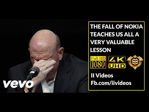 The Fall of Nokia Teaches Us All a Very Valuable Lesson: An amazing speech by the CEO of Nokia