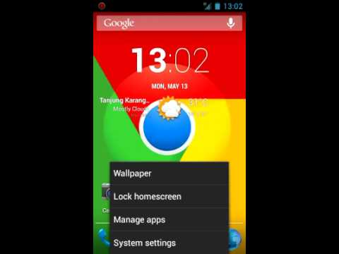 CM10.1 Galaxy Wonder - FIX Trebuchet Transparent App drawer