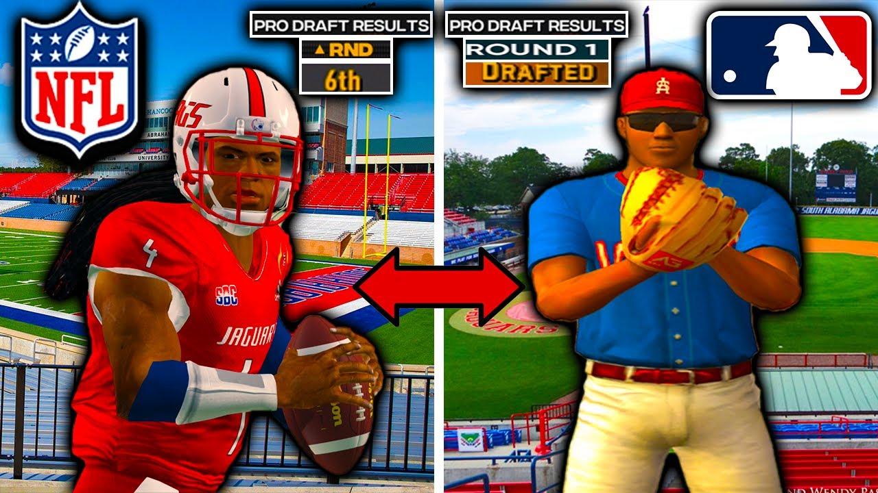 *New Series* Meet The Next Bo Jackson | Golden Arm: The Dual-Sport Athlete Story | MLB + Madden RTG