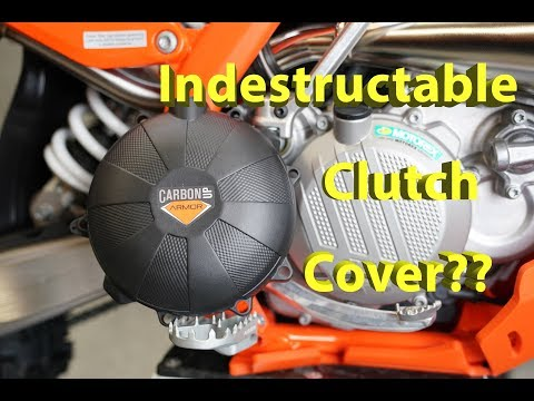 Indestructible?   Carbon Up Armor Clutch Covers   How To Install and First Look
