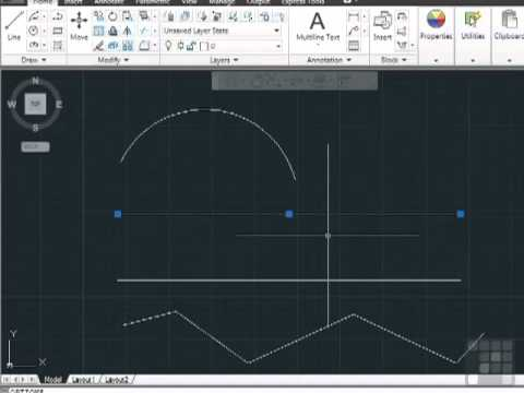 Divide and Measure Correctly In AutoCAD by InfiniteSkills