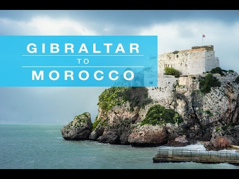 Ferry from Gibraltar to Morocco | James Goode Vlog