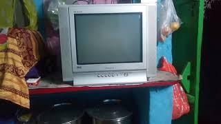 "Samsung 15"" CRT TV no sound problem.solved by  service mode"