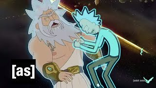 Rick Vs. God | Rick and Morty | adult swim