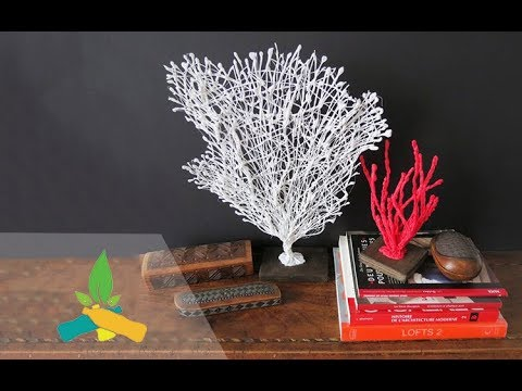 How to make a red coral tree | DIY Tutorial
