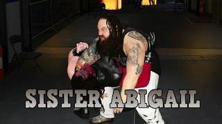WWE 2K17 - BRAY WYATT SISTER ABIGAIL COMPILATION!