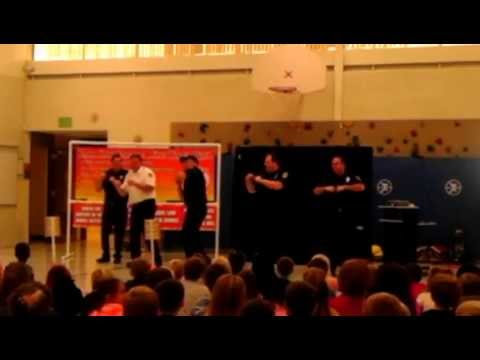 2011 CRFD fire prevention dance