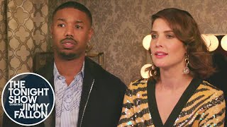 Download Michael B. Jordan and Cobie Smulders Text Thanos Video