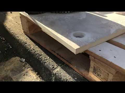 How to bevel holes on hard porcelain tiles