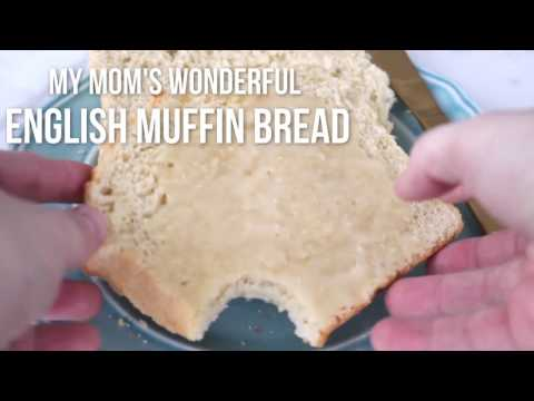 My Mom's Wonderful English Muffin Bread