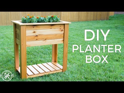 DIY Planter Box with Hidden Drainage | How to Build