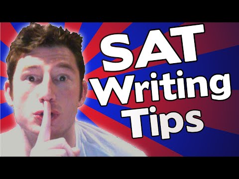 SAT Writing Tips,Tricks and Strategies