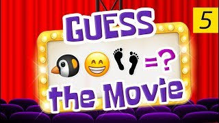 Can You Guess All The Movies? | Emoji Challenge 5 😃