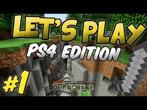 ULTIMATE ADVENTURE - Let's Play Minecraft PS4 - Part 1