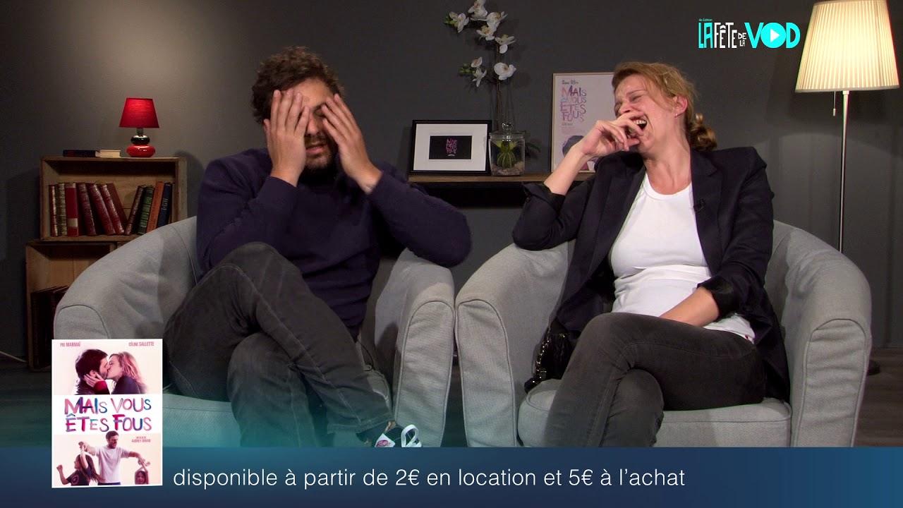 Fête de la VOD 2019 - Celine Sallette - Pio Marmaï - Mais vous êtes fous ?