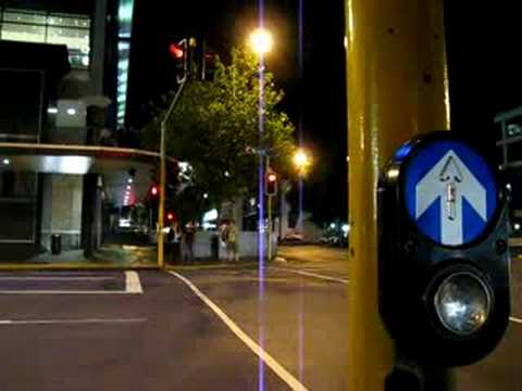 New Zealand's Chirping and Clucking Crosswalk Signal