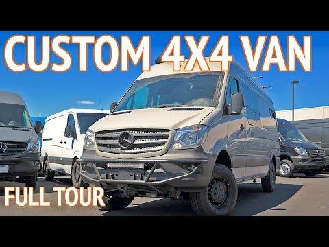 OSV 4x4 Mercedes Sprinter Van Conversion   Outside Van