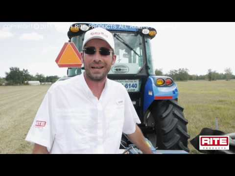 How to Use a Ranch Rite 7 Head Disc Mower