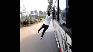 Kenya spiderman kenyan matatu stunts