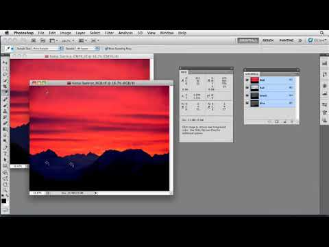 Photoshop tutorial: Setting RGB and CMYK color values | lynda.com tutorial